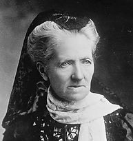 Leaduing Suffragette campaigner Charlotte Despard