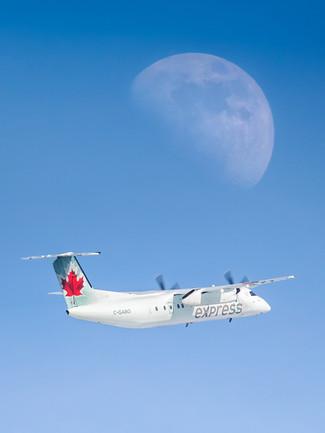Air Canada Express | Dehavilland Dash-8-100