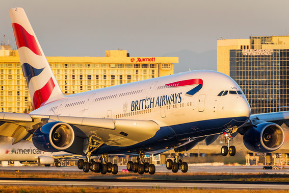 British Airways | Airbus A38-800