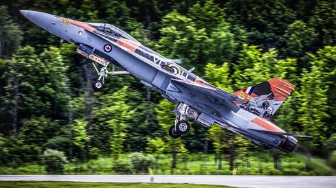 RCAF - Royal Canadian Air Force | McDonnell Douglas CF-18 Hornet