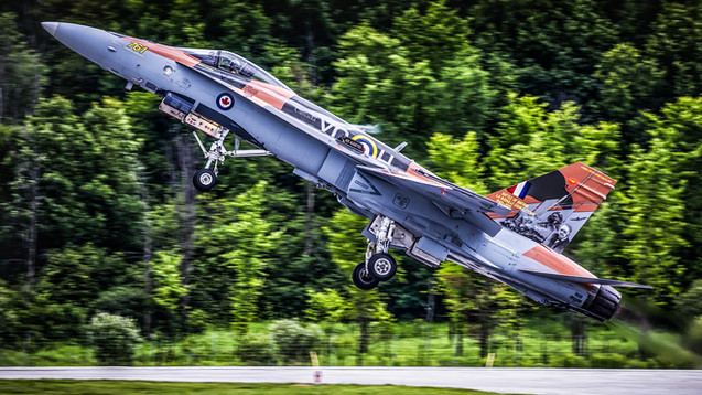 RCAF - Royal Canadian Air Force | McDonnell Douglas CF-18 Hornet