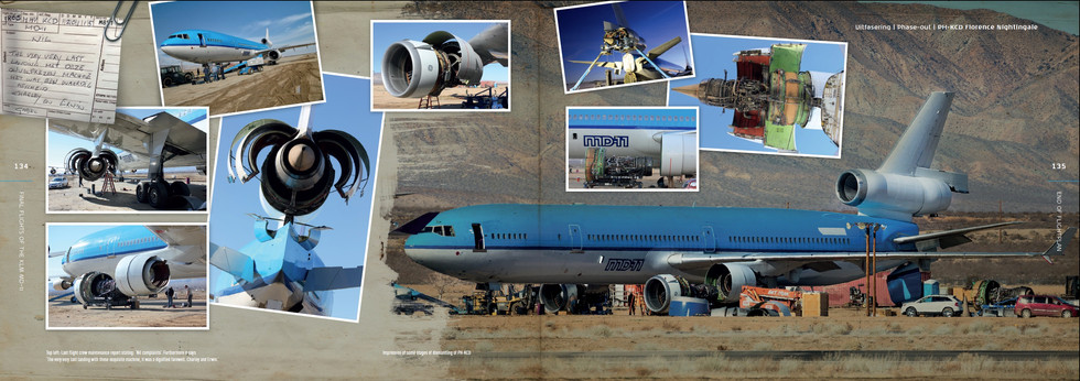KLM MD-11 Farewell Book 2