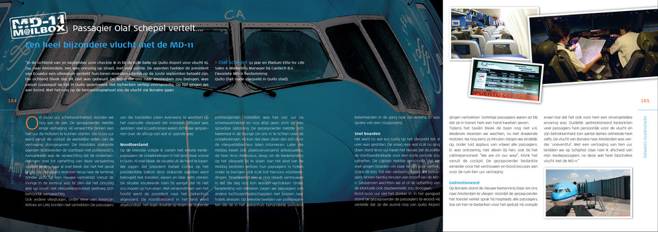 KLM MD-11 Farewell Book 1