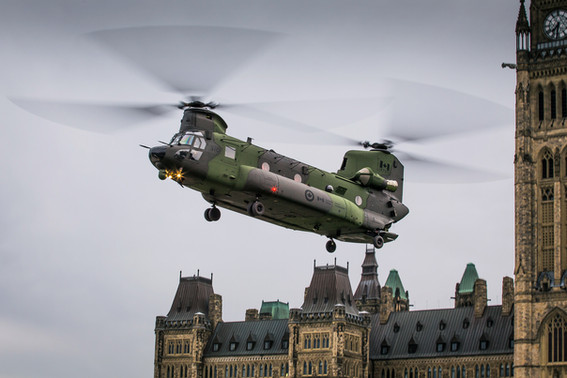 RCAF - Royal Canadian Air Force | Boeing CH-147 Chinook