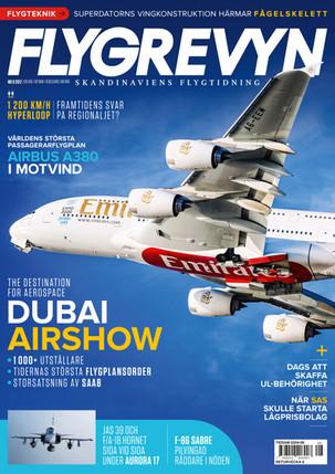 Flygrevyn Scandinavian Aviation Magazine | December 2017 Issue