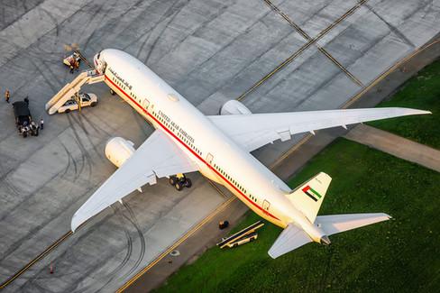 Abu Dhabi Amiri Flight | Boeing 787-9 BBJ Dreamliner.