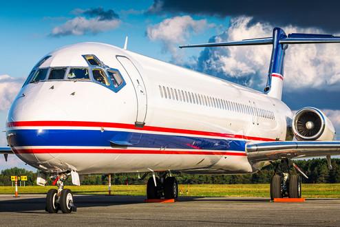 Detroit Red Wings | McDonnell Douglas MD-81
