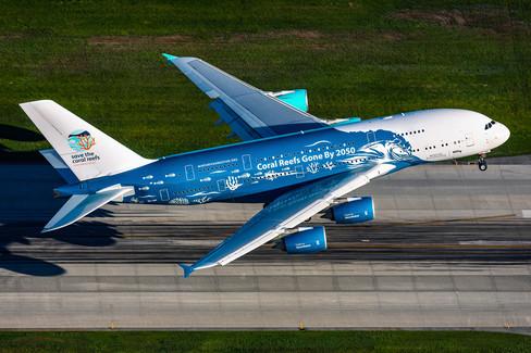Hi Fly Malta Airbus A380