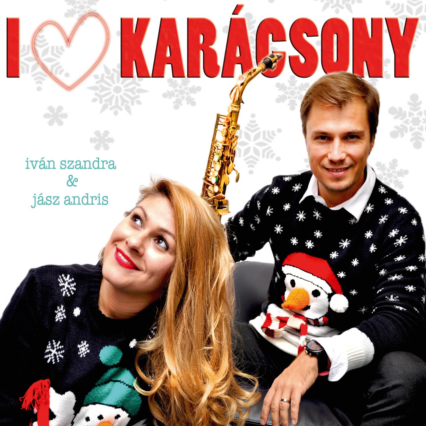 I heart karácsony lemez