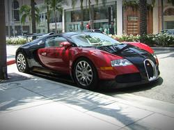 Bugatti in Hollywood