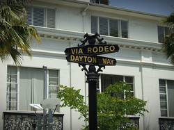 Rodeo Drive in Hollywood