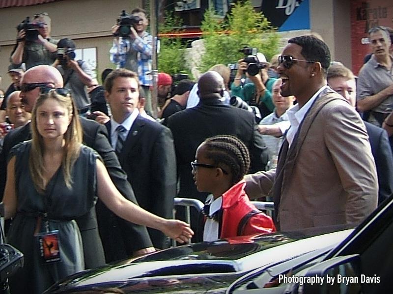 The Karate Kid premiere in L.A.