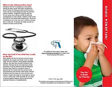 DCF - Influenza Flu Brochure Kidz Rock Affordable Christian Child Care Preschool Sanford FL Central Florida