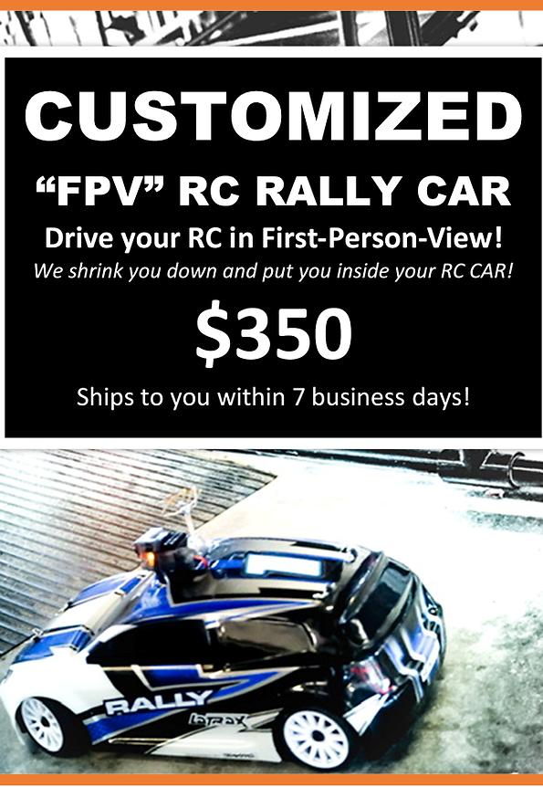 Custom FPV Rally Car