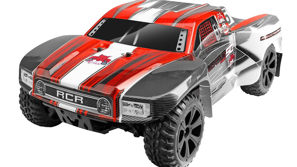 BLACKOUT™ SC 1/10 SCALE ELECTRIC - SHORT COURSE TRUCK - BRUSHED