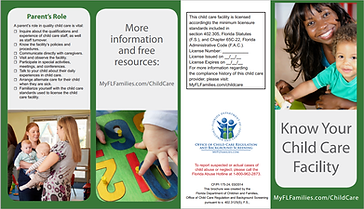 Know your cc facility - DCF - Kidz Rock Affordable Christian Child Care Preschool Sanford FL Central Florida