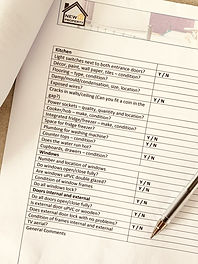 Buy To Let Investment Property Viewing Checklist