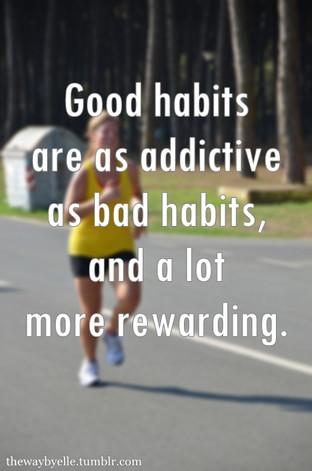 Von Gewohnheiten und vom Lernen
