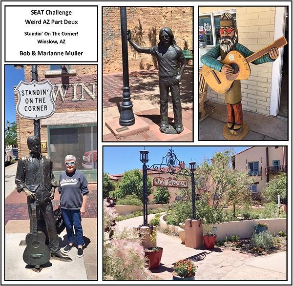 Muller Standin on the Corner Winslow AZ.