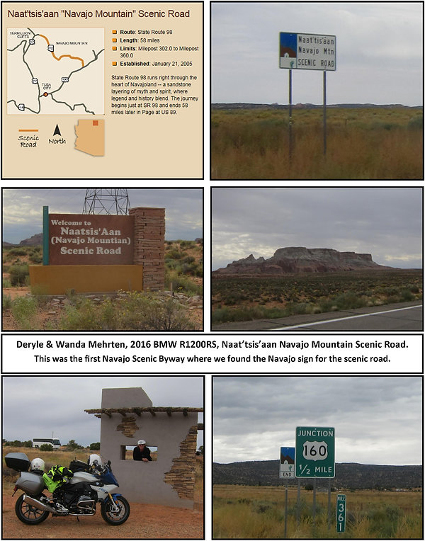 Naat'tsis'aan Navajo Mountain Scenic Roa