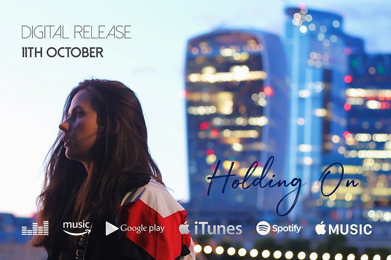 holding on banner logos digital release