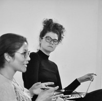 Rehearsal for Dancing for the Blast (Palindrome Productions 2018)