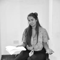Rehearsal for Dancing to the Blast by Monirah Hashemi