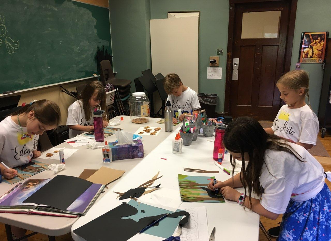 Summer Camp Art Class