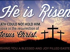 """""""그분은 살아나셨습니다""""...""""He is risen! Celebrate the risen Savior, Jesus Christ """""""