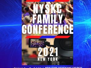"""Nyskc Family Conference'21 """"다윗의 무너진 천막을 일으키라"""""""