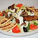 Greek Salad with Gyro