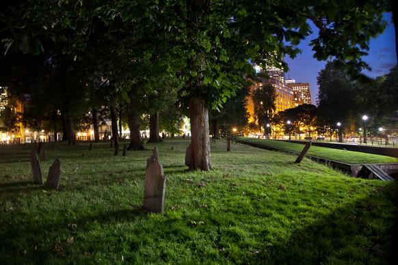 Central Burying Ground night 2 photo taken by Jarrod Staples.jpg
