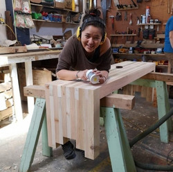 making 2x4 benches