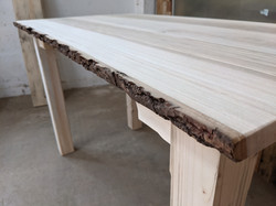 Ash top desk