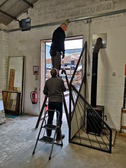 Fixing the door