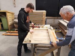 Making shedzone panels