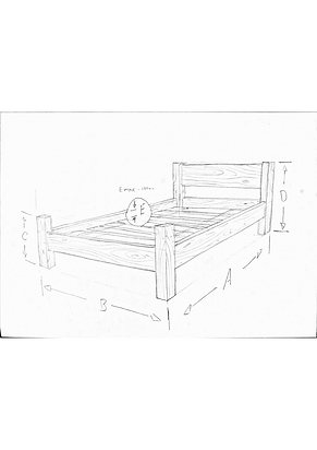 bespoke hand made beds made to order from reclaimed timbers