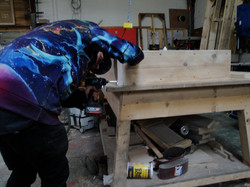 Making bookcases