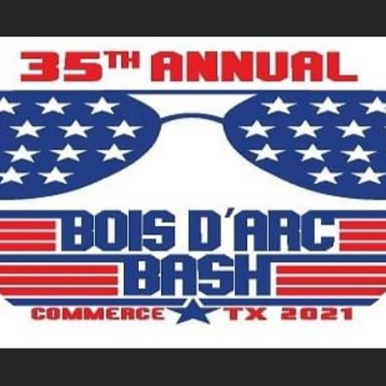 BOIS D'ARC BASH