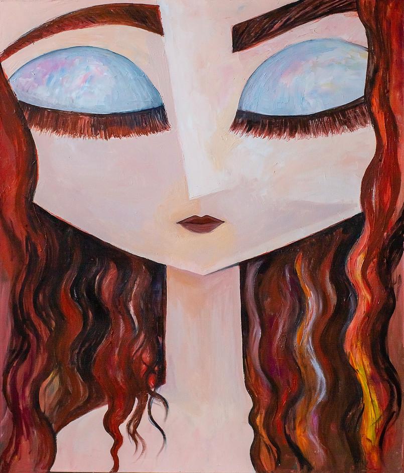 Портрет рыжей