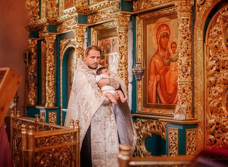 Крещение в Храмах Москвы