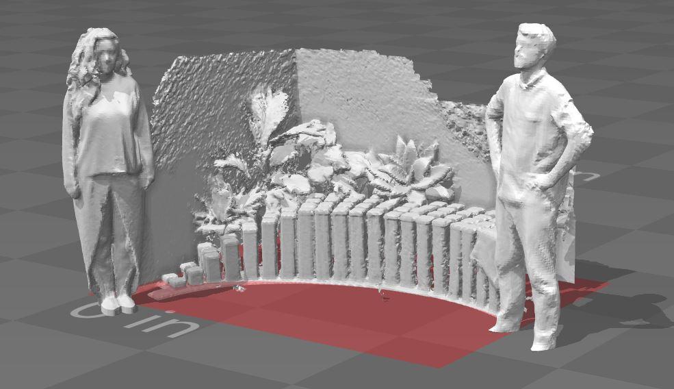 3D scan with Structure Sensor, Nahal Sohbati & Eric Arneson