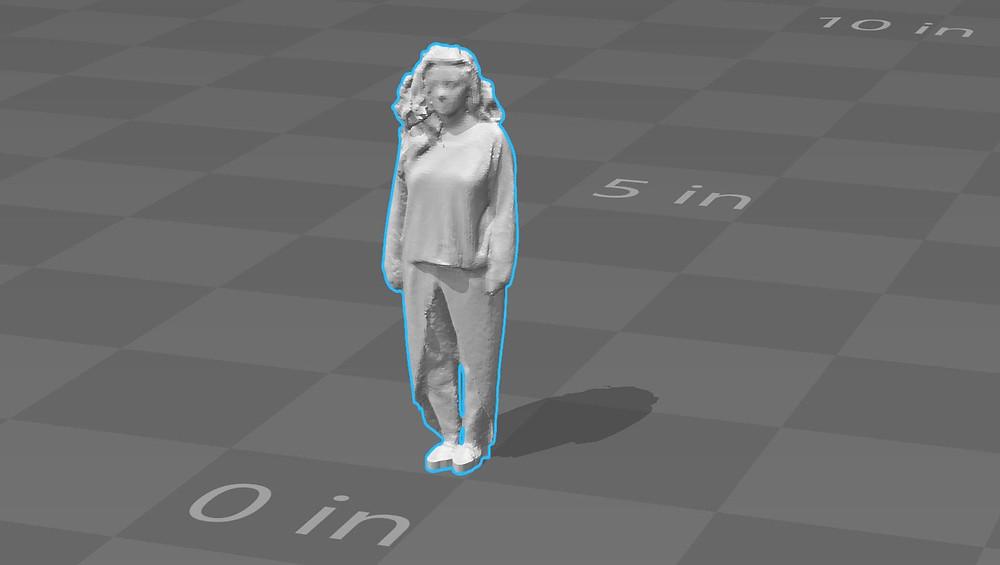 Nahal Sohbati 3d Scan Structure Sensor