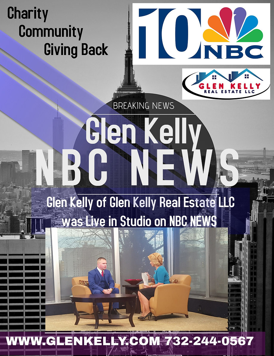 Glen Kelly LIVE on NBC NEWS Glen Kelly Real Estate NBC NEWS 10