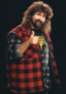 WWE Hall of Fame and Monday Night Raw Mick Foley Cactus Jack Dude Love Mankind Glen Kelly