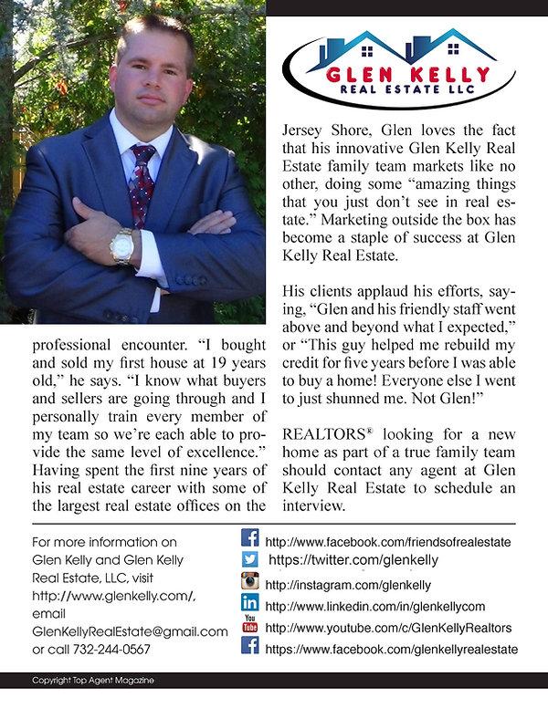 glen kelly real estate top agent magazine nj realtor real estate agents new jersey