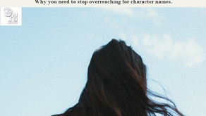 Guest Blog: Character Naming