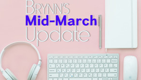 Mid-March Writing Update