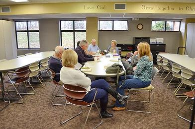 """Faith United Adult Sunday School """"Topics"""" Class"""