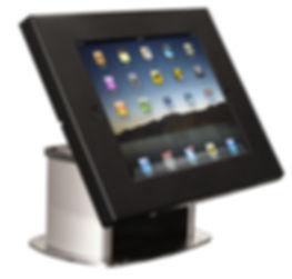 Espositore da banco antitaccheggio per iPad e tablet